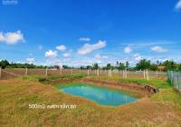 Bán gấp 500m2 vườn trung tâm thị trấn Cần Giuộc, Long An đường xe hơi, SHR giá chỉ 3,2tr/m2