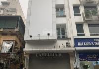 Cho thuê nhà MP Lạc Trung: 80m2 x 4,5 tầng, MT: 5,5m, lô góc, thông sàn, riêng biệt. LH: 0974557067