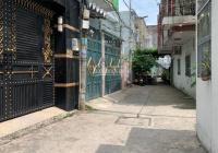 Nhà hẻm 4,5m đường Nguyễn Hới, An Lạc, Bình Tân. 4,05 x 14,6m (46,6 m2), 1 trệt 1 lầu, hướng Bắc