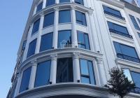 Bán tòa VP MP Trần Thái Tông Cầu Giấy DT 699 m2 11T MT 40m lô góc đa năng cho thuê 1 tỷ/th