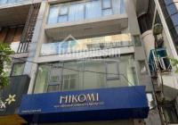 Cho thuê nhà MP Lê Văn Hưu, DT 120m2 x 4 tầng + hầm, MT 4m nở hậu, thang máy, điều hòa. Giá rẻ