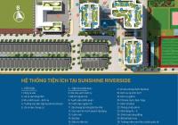 Căn 3 phòng ngủ 99m2 sát vườn treo view bể bơi sông Hồng tại Sunshine Riverside, bán giá 3,5 tỷ