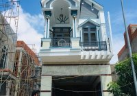 Nhà 1 trệt 1 lầu MTĐ Đoàn Nguyễn Tuấn, Hưng Long, Bình Chánh, 78m2, sổ hồng. 0796752867