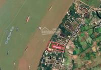 Bán 5ha đất Nhơn Trạch MT sông Đồng Nai, đất mặt tiền đường Phan Văn Đáng, 2,6tr/m2, 0909039799