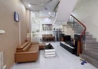 Cho thuê nhà mới, đẹp Kim Đồng gara 55 m2 x 4 tầng full nội thất ngõ ô tô tránh nhau 15 triệu/tháng