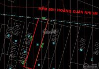 Bán nhà cấp 4 hẻm 8m thông Hoàng Xuân Nhị, P. Phú Trung, 87m2, giá chỉ 7,8 tỷ