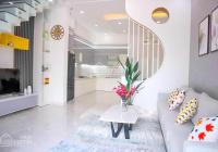 Bán nhà 1 trệt 2 lầu, 5x25m, full nội thất, mặt tiền DX 039 gần Phường Phú Lợi, giá 5.2 tỷ