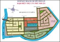 Bán nền Phú Nhuận Quận 9 - trục 20m (H2, DT 264.6m2, hướng Tây Bắc, giá 120 tr/m2) 0949003009