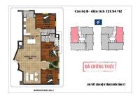 Chính chủ bán căn 121m2, 3PN, 2VS chung cư 18 Phạm Hùng, hướng mát, giá 22,5 tr/m2. LH: 0856943579