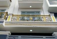 Nhà hẻm 1 trệt 3 lầu 56m2/giá 4,85 tỷ - đường Hồ Học Lãm, Bình Trị Đông B, Quận Bình Tân