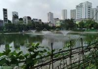 Bán nhà Nguyễn Thái Học 30m2, 4 tầng đẹp phân lô, thông, ô tô 10m view hồ, giá chỉ 2.6 tỷ