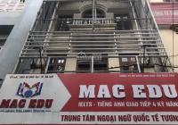 Cho thuê nhà mặt ngõ Trần Quý Kiên, DT 60m2, nhà xây 4 tầng, mặt tiền 4,5m, tầng 1 thông sàn