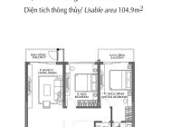 Bán căn hộ Diamond Brilliant - 112m2 2PN + 1 2WC view hồ bơi, CK 8% + 50tr, nhận nhà Quý 4/2022
