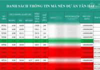 Đất nền Tân Hải phân lô, sổ hồng riêng từng nền - giá 300tr, ngân hàng hỗ trợ 70%