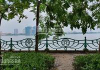 Bán mảnh đất mặt phố Võng Thị, lô góc, giáp mặt Hồ Tây, 268m2, MT 13m, 32 tỷ