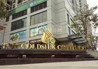 Bán căn hộ tòa J GoldSilk - Hà Đông, 110m2 nội thất cơ bản, hướng Đông Nam, 2.8tỷ. LH: 0936 846 849