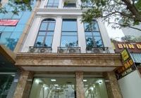 Cho thuê tòa nhà mặt phố Tây Sơn - Đống Đa 150m2*6 tầng 1 hầm, MT 7m, thang máy, giá 90tr/tháng