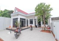 Bán biệt thự vườn mái Thái ngay vòng xoay Hiệp Thành 3, DT 240m2, xây mới 100%