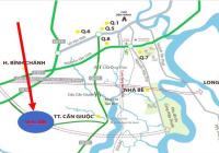 Bán gấp lô góc 2 mặt tiền đường Mỹ Lộc - Phước Hậu, SHR, đường xe hơi, lộ giới 23m. Giá 1,2 tỷ