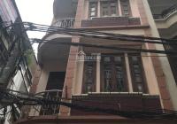 Cho thuê nhà mặt ngõ Nguyễn Khang, diện tích 55m2, nhà xây 4 tầng, căn góc 2 mặt tiền, giá 20tr