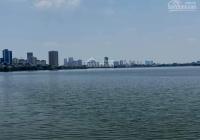 Bán đất Yên Phụ, Tây Hồ, 30m ra Hồ Tây, xây căn hộ cho thuê, 108m2, nhỉnh 14 tỷ