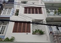 Bán nhà hẻm nhựa 10m đường Trương Công Định - DT: 5 x 17m - 4 tầng kiên cố - Giá: 12.5 tỷ