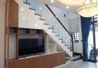 Nhà mặt tiền 6.4m, đường thông 5m phường Hiệp Thành, Thủ Dầu Một. 2 lầu 1 trệt full nội thất