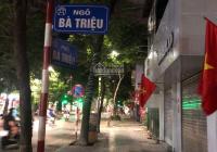 Bán nhà mặt phố Bà Triệu, mặt tiền rộng, vỉa hè miên man, vị trí hiếm. 170m2, MT 7m, giá 115 tỷ