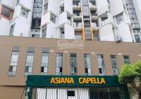 Mùa dịch Covid tôi cần bán gấp căn hộ 2PN và 3PN Asiana Capella giá tốt nhất dự án tại Quận 6