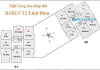 Chính chủ bán gấp căn hộ Duplex HUD2 Tây Nam Linh Đàm, DT: 134m2