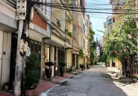 Cho thuê nhà phân lô ngõ 281 Tam Trinh, diện tích 52m2 nhà 4 tầng đẹp, giá cho thuê 11tr/tháng
