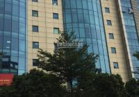 Bán tòa nhà văn phòng sổ đỏ chính chủ mặt phố Trần Thái Tông. Diện tích 500m2 xây 15 tầng 1 hầm