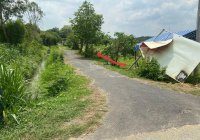 Bán lô đất vườn 1000m2 đường nhựa, Cây Trôm - Mỹ Khánh, Thái Mỹ, Củ Chi, giá 1 tỷ 350
