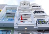 Nhà mới 1T4L giá mềm + tặng nội thất, DT 4x16m, HXH thông gần Sông, gần ngã 4 chợ Cầu Quang Trung