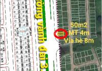 Chính chủ bán lô đất 50m2 mặt đường Vành đai 3.5, ngay cạnh KĐT An Lạc Symphony tiềm năng sinh lời