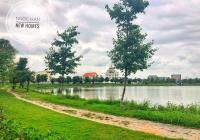 Bán lô biệt thự song lập 2 mặt tiền view hồ siêu đẹp, giá 18.5 tr/m2