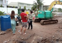 Đất thổ cư chợ Rạch Kiến trong khu dân cư - Giá 990tr