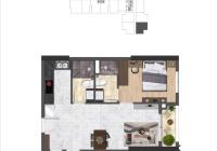 Bán lại giá gốc căn hộ cao cấp Saigon Asiana trung tâm Quận 6, căn 2PN lớn 71m2