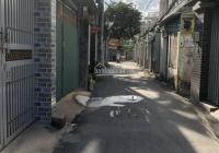 Cho thuê nhà riêng hẻm thông xe hơi đường Số 9, P. 16, Quận Gò Vấp (cách hồ bơi 1/6 30m)