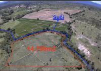 Lô đất giáp suối, hướng núi, giá chỉ 70.000đ/m2, SHR