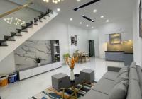 Bán nhà mới xây trệt lầu Phú Thọ TDM kế bên Huynhdai đường nhựa 6m 3PN, đầy đủ nội thất, 4,5x16,5m