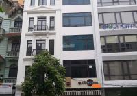 Cho thuê nhà MP Hoàng Cầu: 50m2 x 6 tầng, MT: 3,5m, nhà mới, thang máy, thông sàn. LH: 0974557067