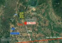 Chính chủ bán lô đất view suối, ngay QL 28B, gần 1,5ha giá 70.000đ/m2 LH 0932888176