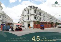 Siêu nhà phố dự án Royal Town - tập đoàn Kim Oanh Group đang triển khai, LH 0909768301