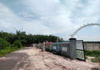Chỉ còn 4 lô liền kề, 1000m2/lô (10x100m), có sẵn tường rào như hình giáp Nguyễn Huệ - Đất Đỏ