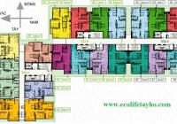 CC bán CHCC Ecolife Tây Hồ tòa C 1107 - 108.9m2, 1501 - 88,7m2 B giá 33 triệu/m2. LH 0966292726