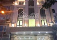 Cho thuê nhà phố Giang Văn Minh 60m2 x 8 tầng, MT 6,5m giá 65tr, nhà mới thông, thang máy, có hầm
