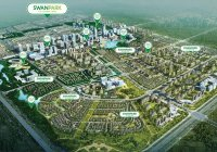 Cho thuê nhà thô nguyên căn Swan Park Nhơn Trạch, căn góc 2 mặt tiền. Giá siêu ưu đãi 5tr/ tháng