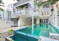 Chị Thu cho thuê biệt thự có hồ bơi gần ngay sông Sài Gòn tại Thảo Điền Quận 2 chỉ 69 triệu/tháng