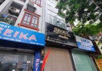 Cho thuê nhà mặt phố Vũ Tông Phan Phường Khương Trung HN, diện tích 60m2*4 tầng, tầng 1 thông sàn